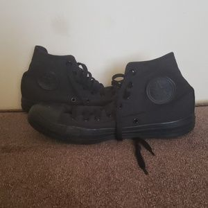Converse women's size 9 black high tops